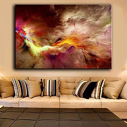 Tela artistica stampata di pittura ad olio quadri per soggiorno ...