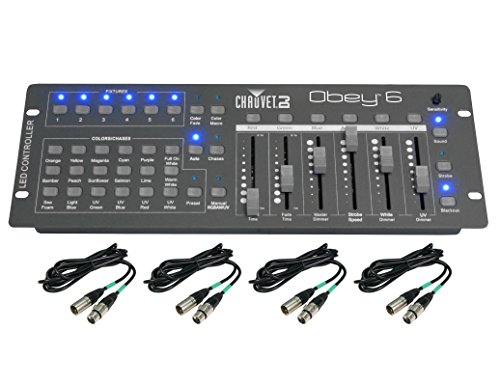CHAUVET OBEY 6 Compact Universal 6 Fixture