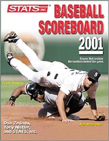 Descargas de libros electrónicos Stats Baseball Scoreboard 2001 PDF