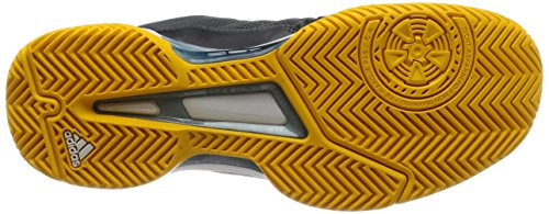 adidas Barricade Club, Chaussures de Tennis Homme, NGTMET/Ftwwht/Cblack Green (Nocmét / Ftwbla / Negbas)