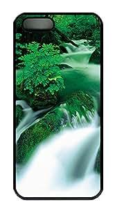 iPhone 5 5S Case Green River PC Custom iPhone 5 5S Case Cover Black