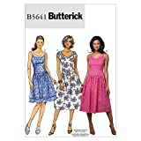 BUTTERICK PATTERNS B5641 Misses'/Misses' Petite Dress, Size AA (6-8-10-12)
