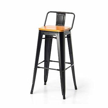 chaise de bar industriel 65 cm