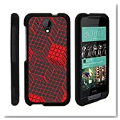 HTC 520 Desire Case, Slim Fit Snap On Cover with Unique, Customized Design for HTC Desire 520 (Cricket) by MINITURTLE - Rubik's Illusion