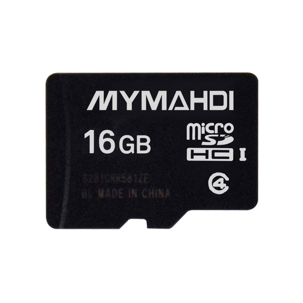 Mymahdi 16 G 16 GB Micro SDHC classe 4 TF scheda di memoria micro SD card Reader –  Confezione bulk COMINU059026