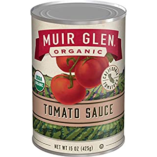 Muir Glen Organic Tomato Sauce, 15 oz, Pack of 12