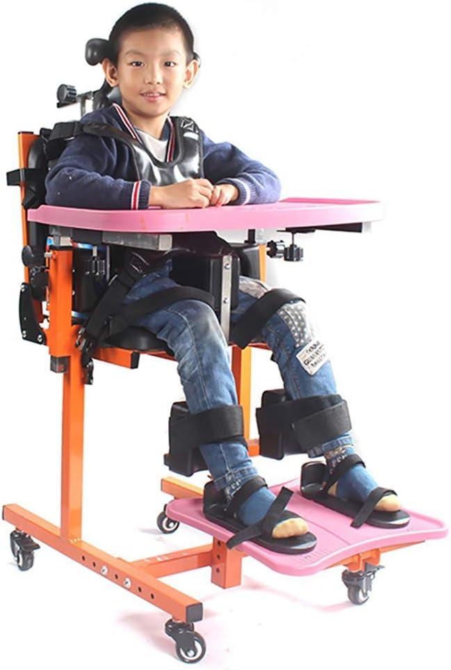 Silla De Niño Parálisis Cerebral Sentado Corrección, Aparato Niños Sentados Rehabilitación Universal Ejercicio, ForRehabilitation Adecuados, Tamaño: 60 * 520