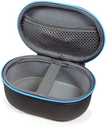 JBL Clip 4 Portable Bluetooth Wireless Speaker Bundle with divvi! Protective Hardshell Case - Blue