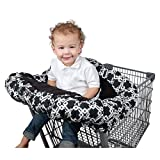 Floppy Seat Ultra Plush Shopping Cart & High Chair Cover - Licorice Symphony
