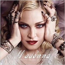 madonna naptár Madonna Official 2018 Calendar   Square Wall Format: Amazon.co.uk  madonna naptár