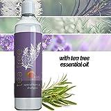 Pure Tea Tree Oil Shampoo - Natural Essential Oil...