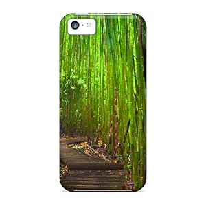 Rpz48044Mfgt Snap On Cases Covers Skin For Iphone 5c(bamboo Forest Way)