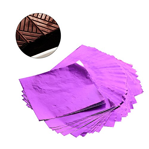 100Pcs/Lot Square Candy Sweets Chocolate Lolly Foil Wrappers Confectionary 3