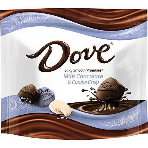 Dove Promises Cookie Crisp and Milk Chocolate Candy Bag, 7.61 ()
