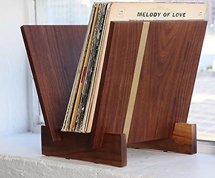 Flip Tabletop Vinyl Record Storage Unit & Amazon.com: Flip Tabletop Vinyl Record Storage Unit: Kitchen u0026 Dining
