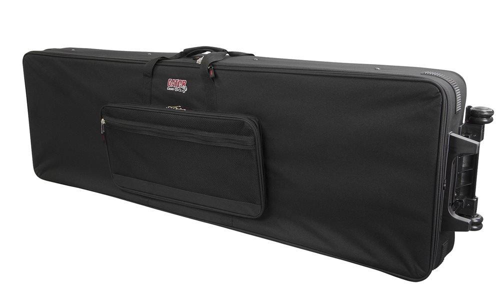 Gator 88 Key Extra Long Light Weight Keyboard Case With Wheels