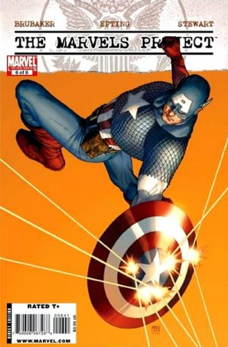 Read Online The Marvels Project #6 Steve McNiven Cover pdf epub