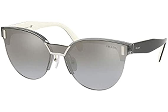 06f30070e4b38 Sunglasses Prada PR 4 US 2831A0 TRANSPARENT GREY at Amazon Men s ...
