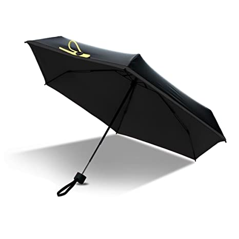 FLM Super Mini Paraguas - Doble-Uso Paraguas Del Sol/Lluvia Paraguas Plegable Compacto