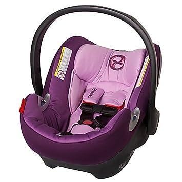 Cybex Platinum Aton Q Infant Car Seat In Grape Juice