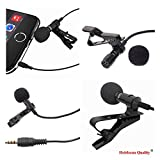 Heirloom Quality Mic Hands Free Shirt Collar Clip-On Microphone For Pc Computer, Laptop, Youtube, Skype Recording, Live Broadcasting