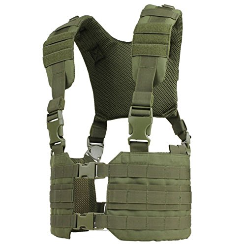 Condor Outdoor MCR7 Ronin Tactical MOLLE Split Chest Rig - OD (Condor Modular Chest Rig compare prices)
