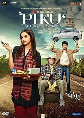 Piku Hindi DVDAmitabh Bachhan, Deepika Padukone, Irfan Khan 2015 Bollywood Fim DVD
