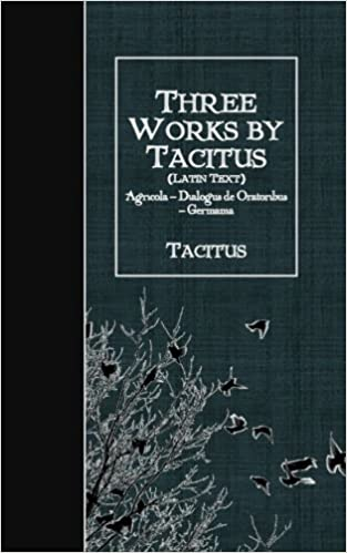 agricola of tacitus latin edition