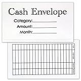 Cash Envelope System - 24 Pack Money Budgeting Envelopes