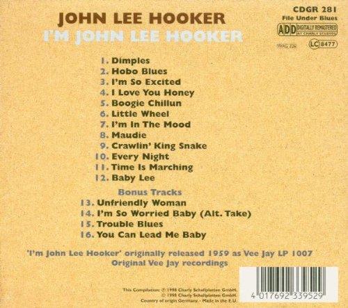 I'm John Lee Hooker by Charly UK