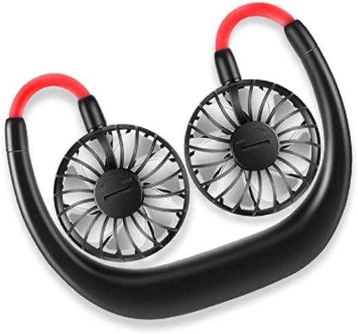 Baifeng Manos Libre Cuello Ventilador Inalámbrico Portátil USB ...
