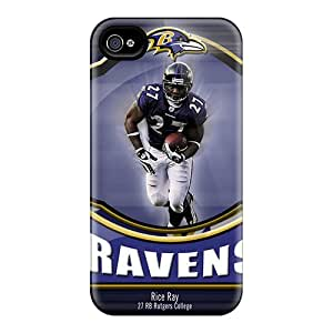 REP1375JLdE Dmucase Awesome Case Cover Compatible With Iphone 4/4s - Baltimore Ravens