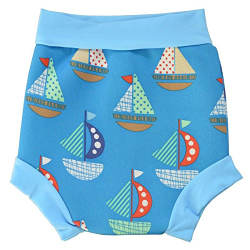 Anbaby Infants and Young Children Swim Diaper Sailboat L