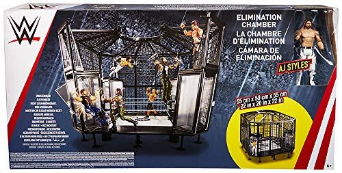 WWE Elimination Chamber Playset (Toy Wwe Weapons)