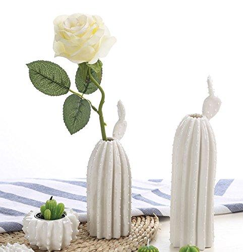 123arts Ceramica Decorazione Vaso Vaso Arte Ceramica - Set Di 2