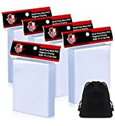 500 Counts Top Loaders Card Penny Sleeves for Trading Card, Soft Clear Baseball Card Sleeves Comp...