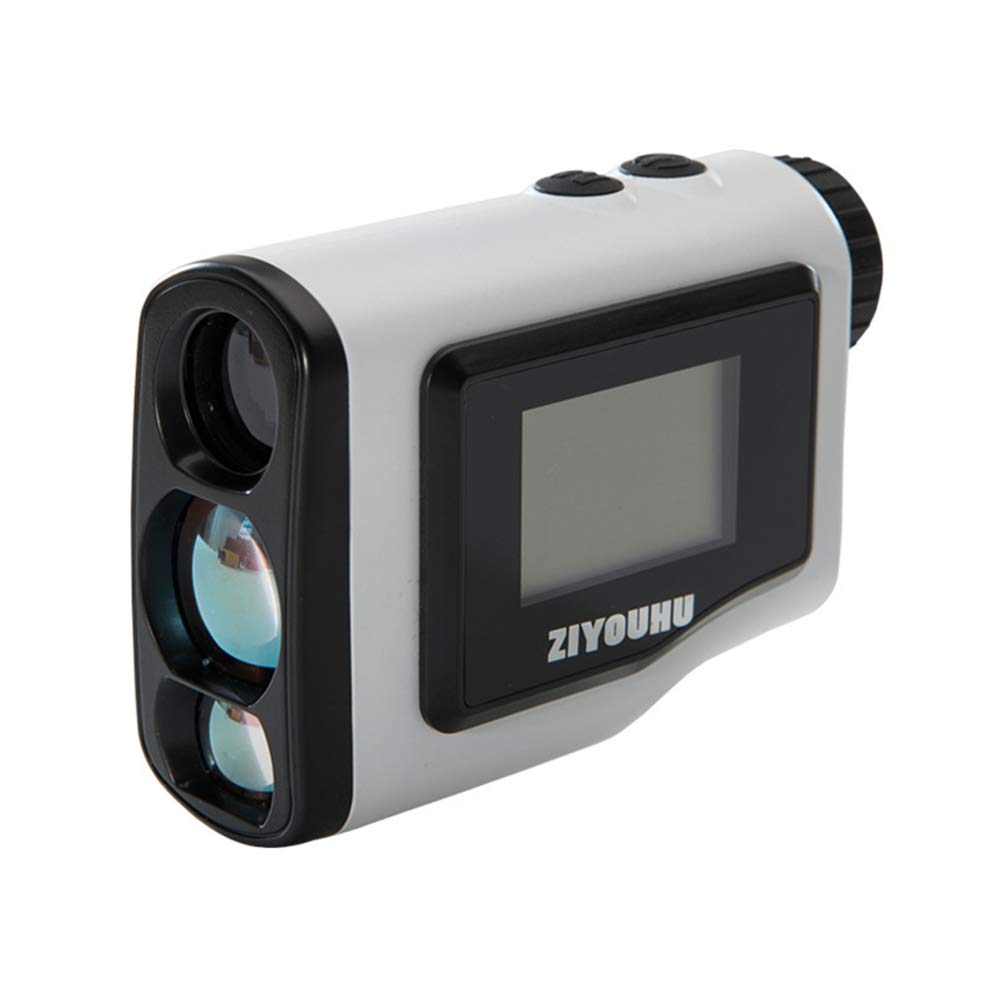 Laser Golf Rangefinder 6X Zoom for Outdoor Wild Hunting Hiking Camping Tourism Engineering Construction Carry Pouch Included by Rayuwen