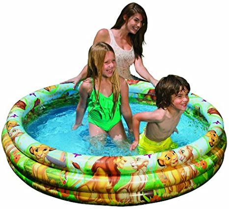 Intex Color Baby Piscina 3 Aros Rey León: Amazon.es: Juguetes y juegos
