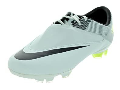 Nike Kids s JR MERCURIAL GLIDE II FG SOCCER CLEATS 1.5 (TRACE  BLUE ANTHRACITE  2aff327f05a13
