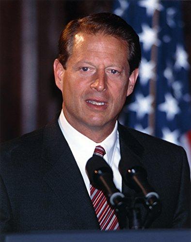 Al Gore Giving a Speech for the Public in a Portrait Photo Print (8 x 10)