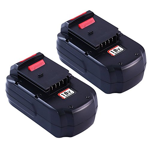 Boetpcr 2Pack PC18B Replacement for Porter Cable 18V Battery 3.0Ah Ni-Mh PC18B PC18BL PCC489N PCMVC PCXMVC Cordless -