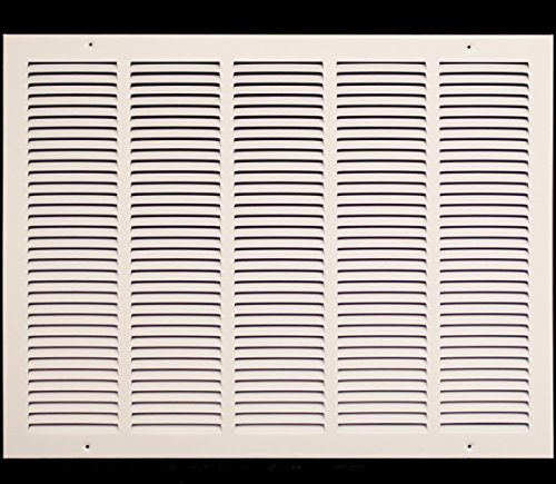Truaire 170 24X18 Stamped Face Return Air Grille, 24