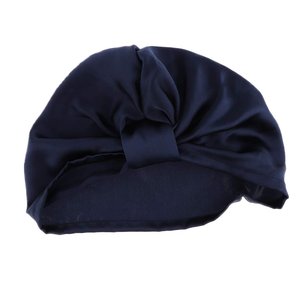 Baoblaze Seide Schlafm/ütze Nachtm/ütze Kopfbedeckung Schlafhaube Nachtkappe Nacht M/ütze Hut f/ür Haarpflege