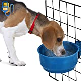 Exblue Dog Bowl Pet Bowl Food & Water,Heated Pet Bowl,Water Food Feeder,Hangable Constant Temperature Water Food Thermal-Bowl Dogs、Cats、Rabbits Birds,Low Power Heating Bowl USB Plug(10W) For Sale