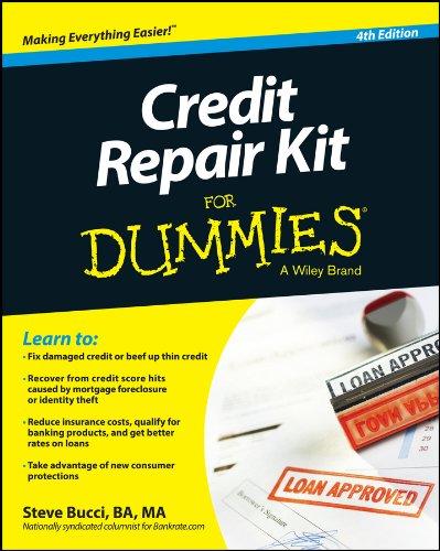 (Credit Repair Kit For Dummies)