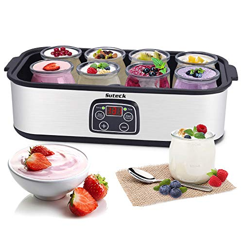 Why Choose Automatic Yogurt Maker Machine Digital LCD Display with Constant Temperature Control 8 Gl...