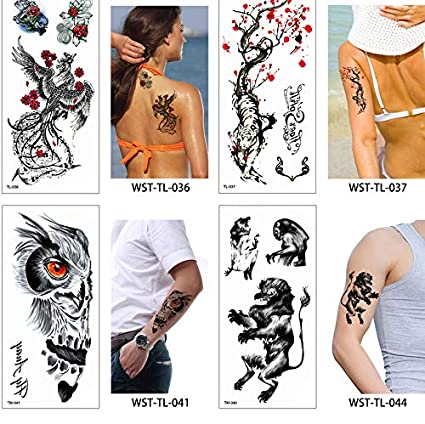 yyyDL Etiqueta engomada del tatuaje Etiqueta engomada del tatuaje ...