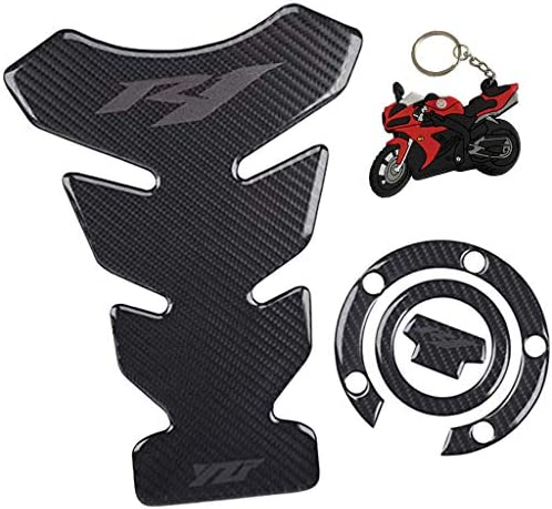 psler Motorcycle Fuel Tank Pad Protector Sticker Decals For Yamaha R1