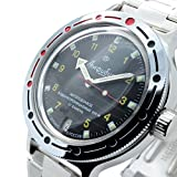 Vostok Amphibian New 420270/ 2416b Russian Military Divers Automatic Mens Watch 200m
