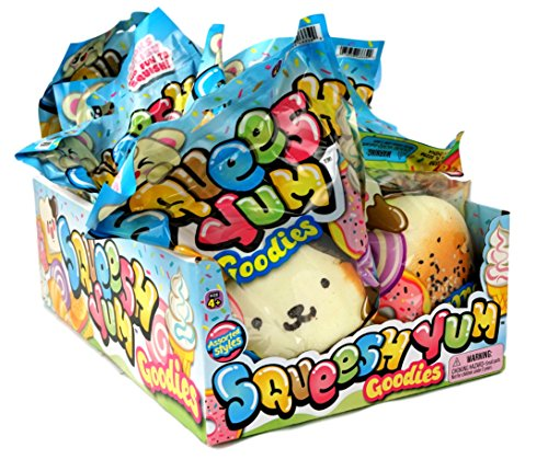 6 Packs of Large Squishies Scented Squishy Toys Slow Rising by JA-RU. ADHD ADD Soft Food Squishy. Girls Toys Super Soft & Collectible | Item #3339-6